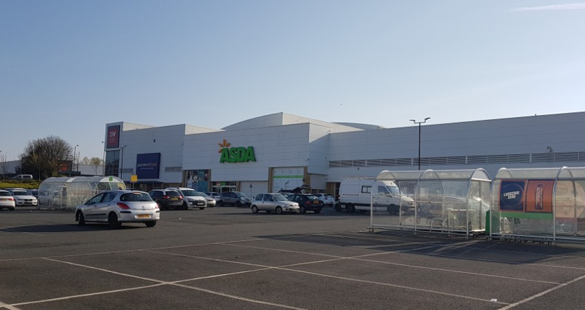 Asda at Newcastle Shopping Park, Byker