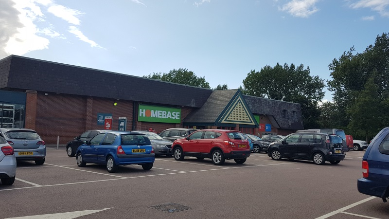 Homebase at Studlands Retail Park, Newmarket