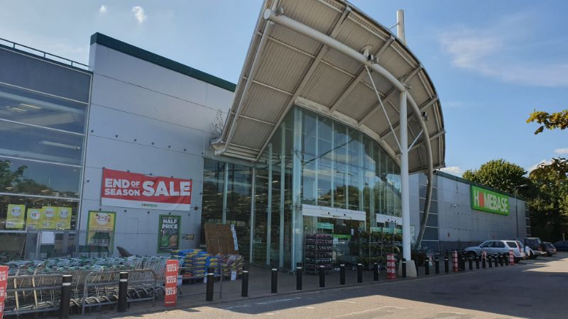 Homebase, Hall Road, Norwich