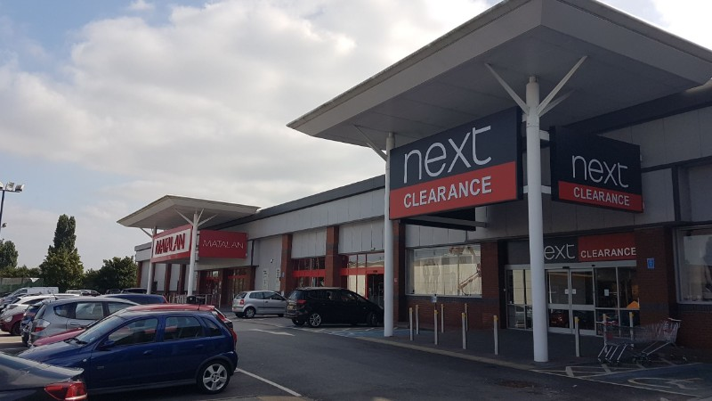 Matalan and Next at Chilwell Retail Park