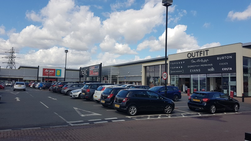 Shops at Riverside Retail Park, Nottingham