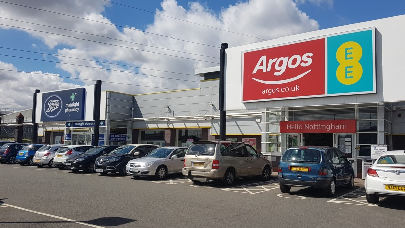 Boots and Argos / EE stores