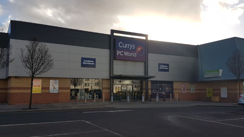 Currys PC World at St Catherine's Retail Park, Perth, Scotland