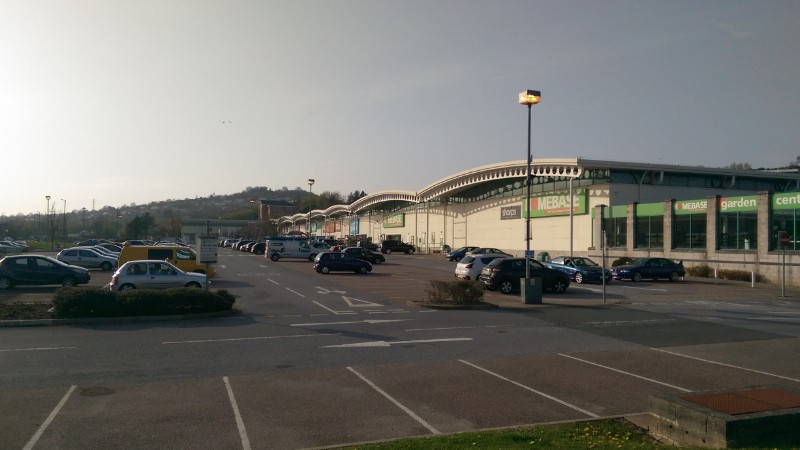 Marsh Mills Retail Park, Plymouth