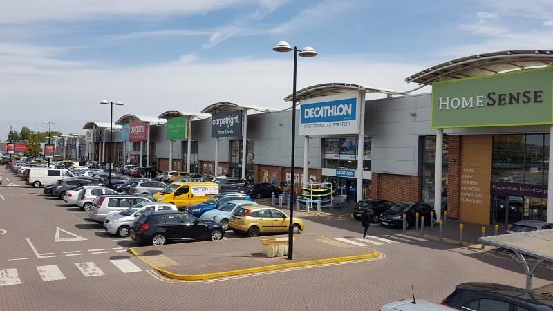 Shops at Poole Retail Park, Branksome