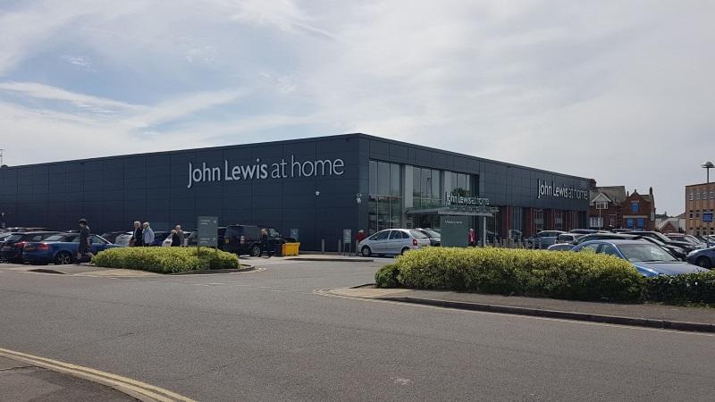 John Lewis store at Poole Retail Park