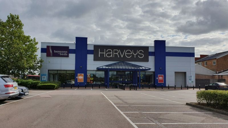 Harveys and Bensons for Beds at Gallows Corner, Romford