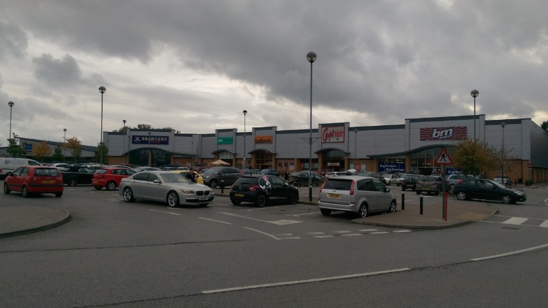 Shops at Three Lakes Retail Park, Selby