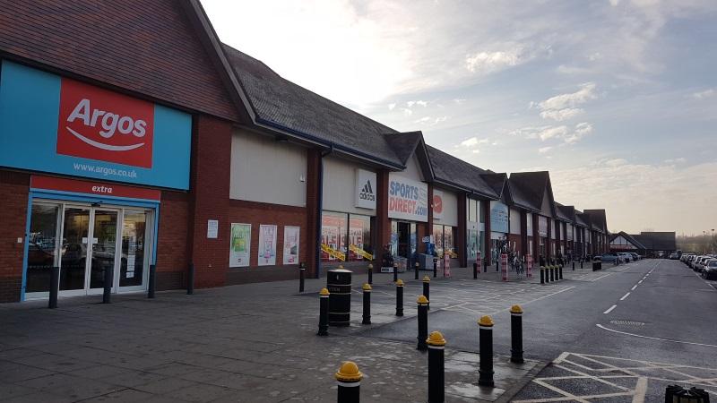 Shops at Meole Brace Retail Park, Shrewsbury
