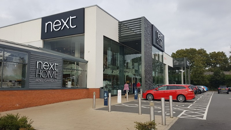Next store at Sears Retail Park, Solihull