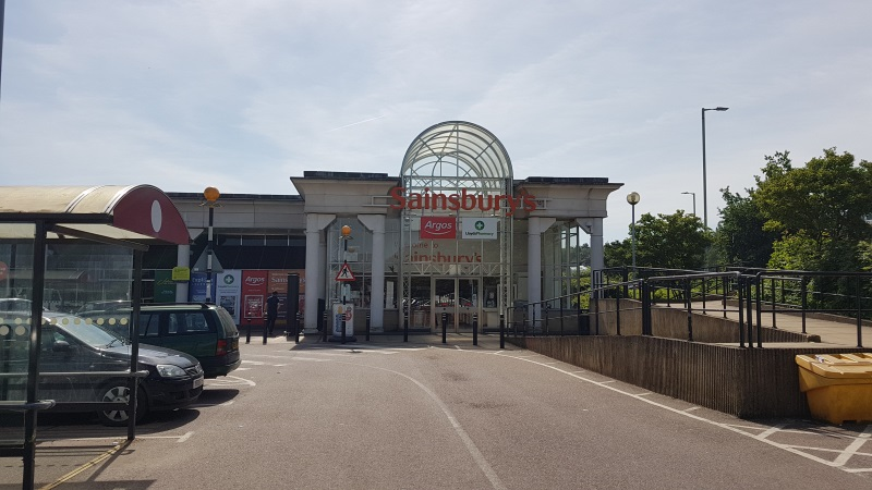Sainsbury's store, Griffiths Way, St Albans