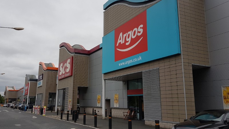 Argos and ScS at The Hough Retail Park, Stafford