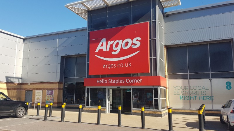 Argos at Staples Corner Retail Park