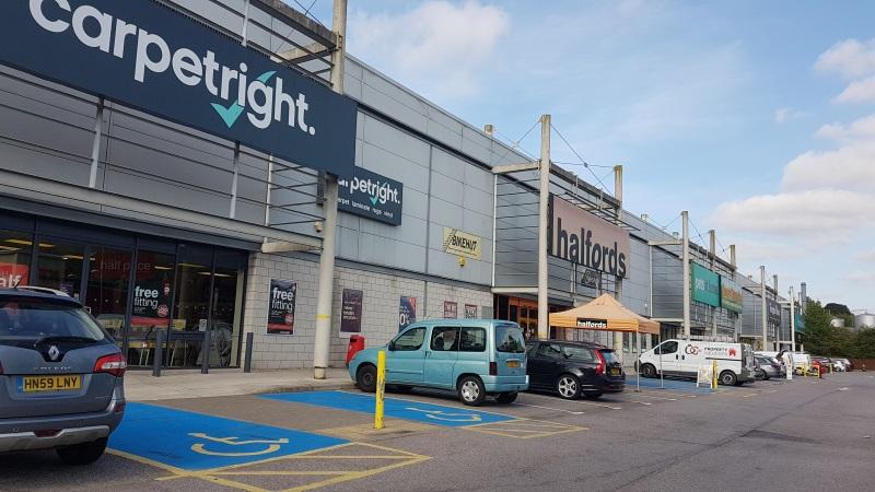 Shops at Shawlands Retail Park, Sudbury