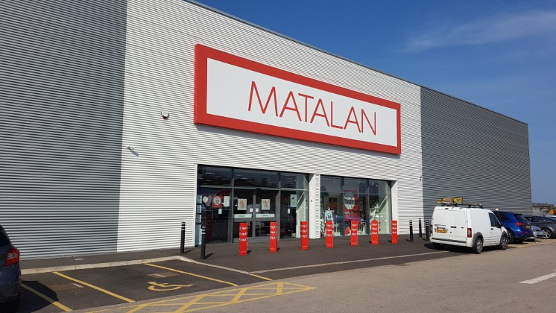 Matalan store at Pallion Retail Park, Sunderland