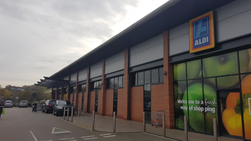 Aldi at The Pipeworks, Swadlincote