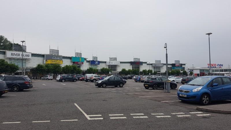 View of Parc Fforestfach, Swansea