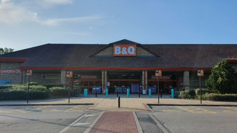 B&Q at Forest Retail Park, Thetford