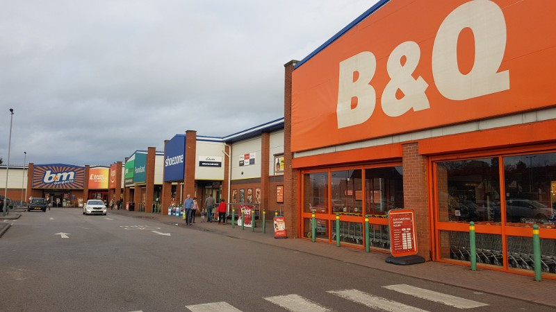 Shops at Dovefields Retail Park, Uttoxeter