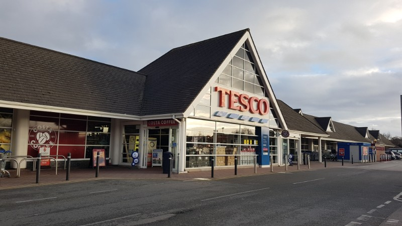 Tesco at Dovefields Retail Park, Uttoxeter