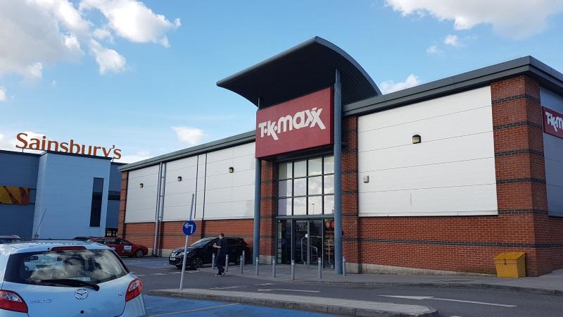 TK Maxx store