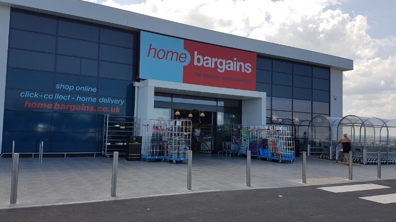 Home Bargains at Prospect Retail Park, Whitstable